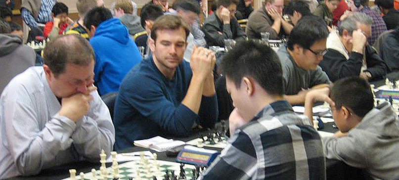 Evanston Chess All Stops: Jiri Kabelac, Jeff Brunelle, Ted Moon and Jim Marchert
